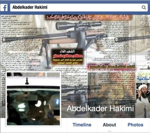 Screenshot of Hakimi's actual Facebook page.