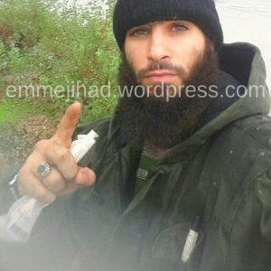Picture of Belgian IS terrorist Tarik Jadaoun, posted on his Facebook account in January, 2016