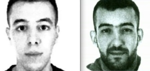 Paris suspects Hamza Attou (left) and Mohamed Amri