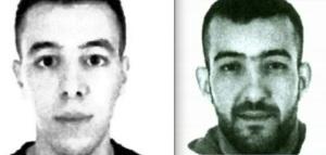 Paris suspects Hamza Attou (left) and Mohamed Amri